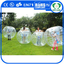 Jouet gonflable Style et bosse balle, Gonflable bumper ball Type football corps gonflable boule de zorb