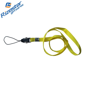 1.0*90cm mobile phone string add metal buckles polyester lanyard