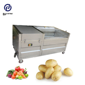Industrial potato peeling machine fruit and vegetable used potato peeling machine