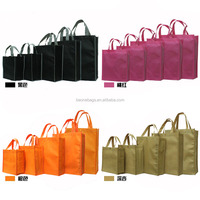Wholesale Shopping Grocery Gift Packaging Non Woven Bags in Dubai