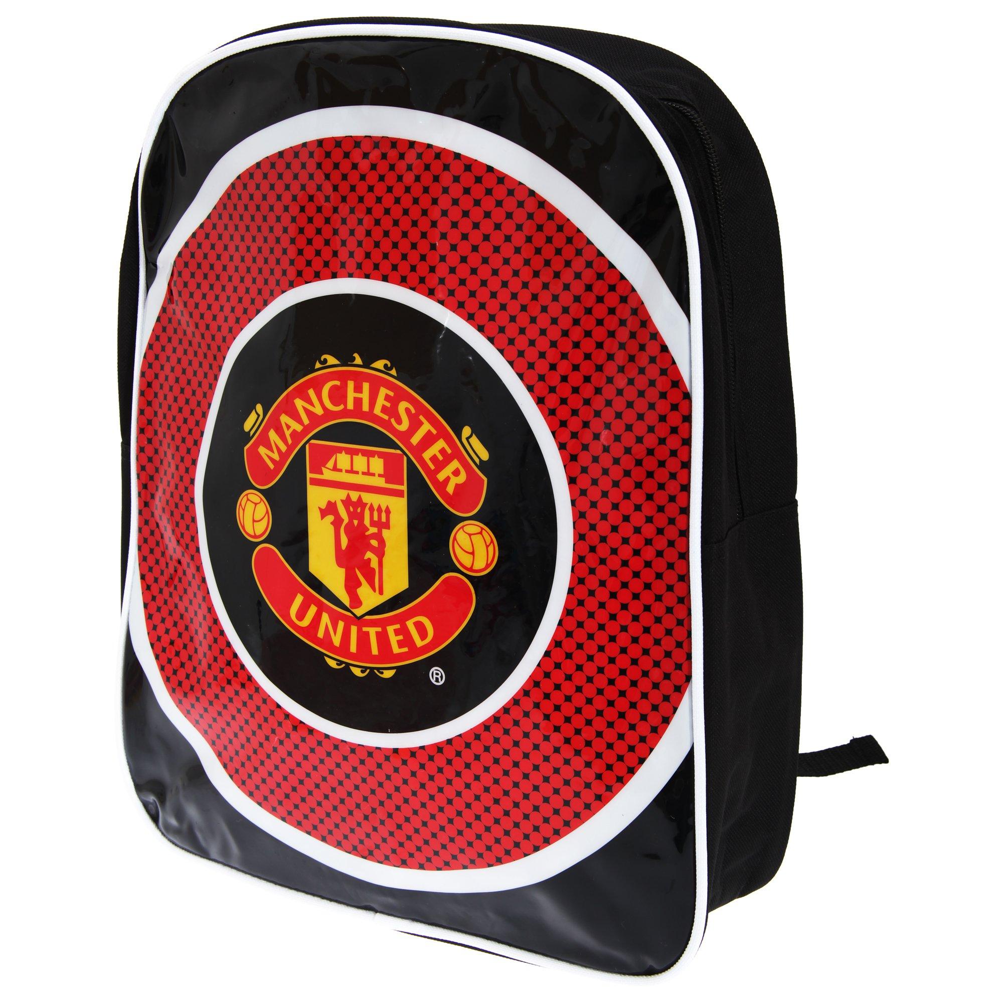 Official Manchester United FC Kids Bullseye Backpack