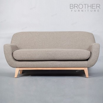 Home Furniture Modern Design Living Room Fabric 2 Seater Sofa ...