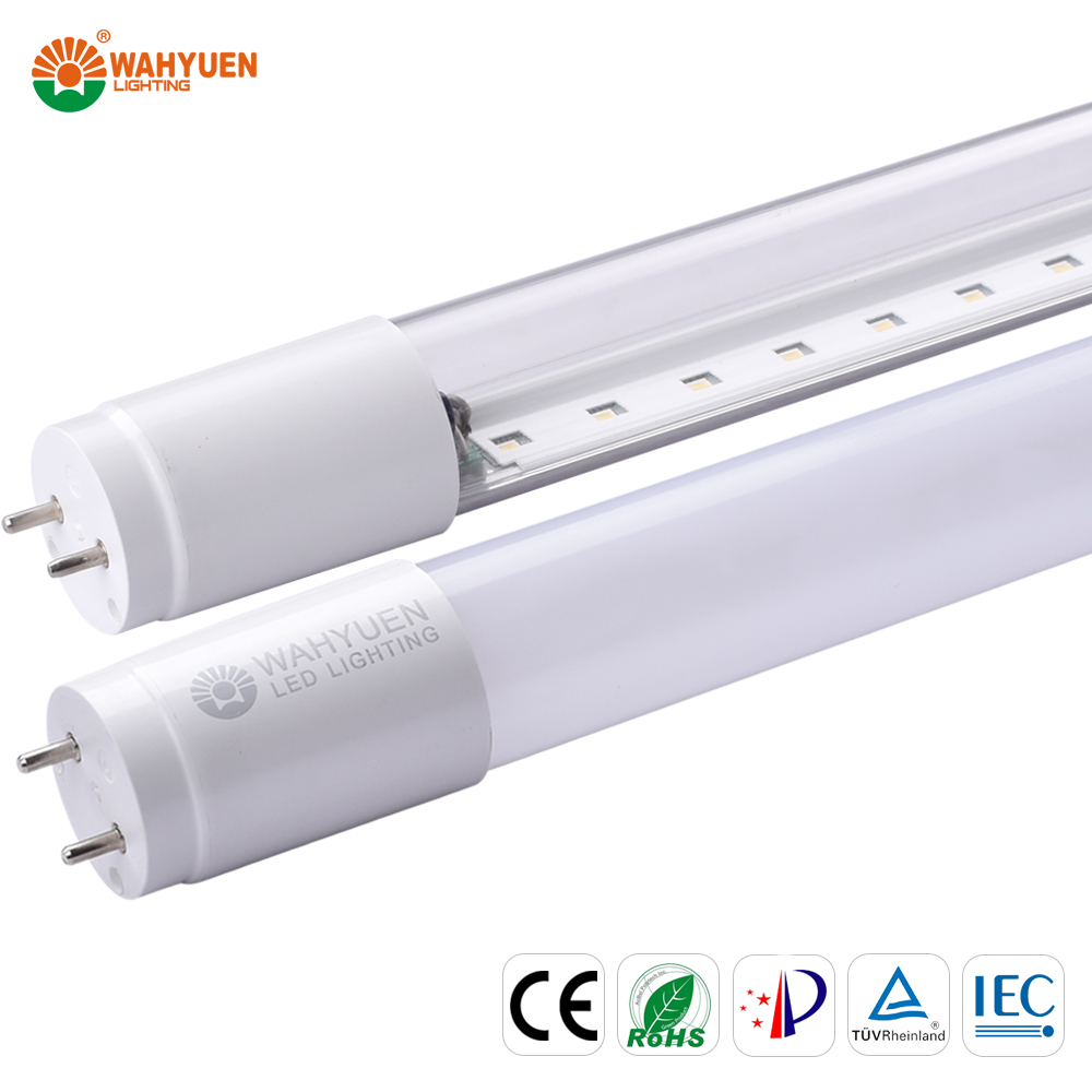 free sample 130 lux 18w PC led light g4 with ce rohs iec t8 led tube light