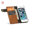 for iPhone 5s Case, CaseMe Wholesale Cell Phone Wallet Cover Case for iPhone 5g 6s 7 8plus Accessories