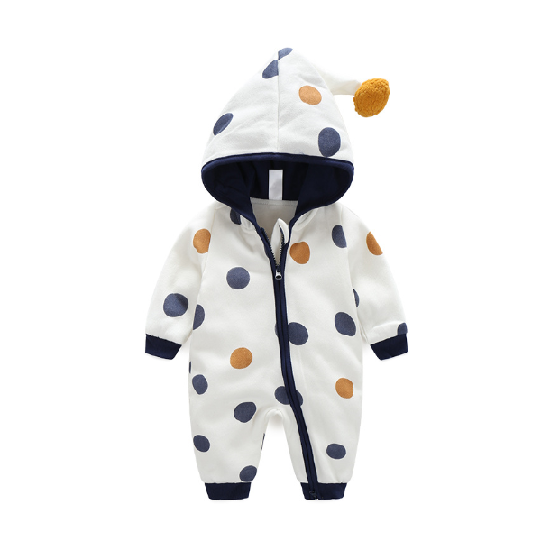 PHB10308 stippen mode baby jumpsuits baby rompertjes