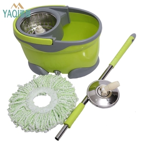 2018 hot selling new products 360 magic spin twin mop bucket