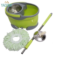 2019 hot selling new products 360 magic spin twin mop bucket