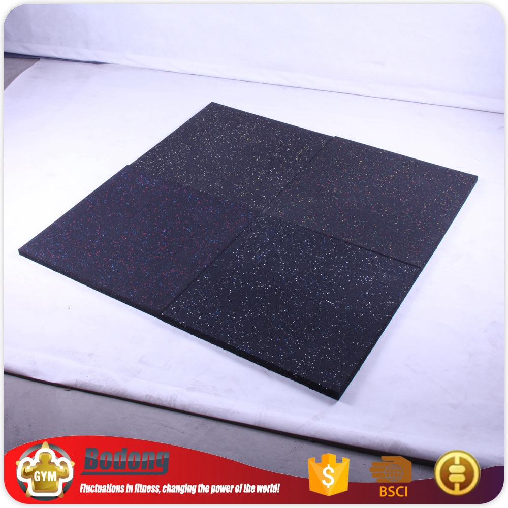 Top Quality Crossfit Gym Rubber Flooring Exercise Rubber Flooring For Export