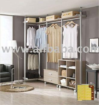 Walk In Closet,wardrobe,system Closet,hanger Rack,furniture