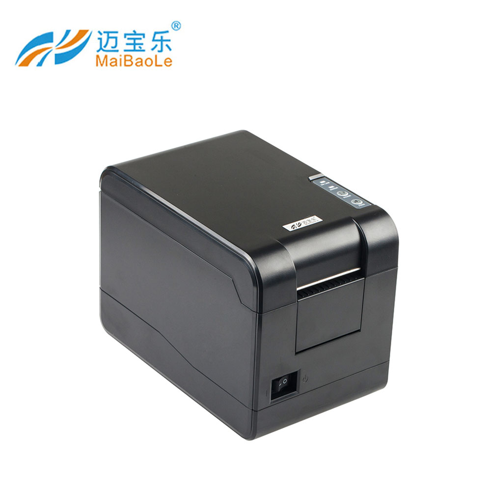 Usb interface portable digital sticker thermal label printer machine