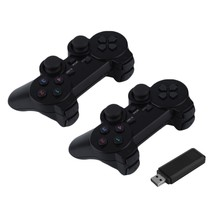 2x2.4G <span class=keywords><strong>USB</strong></span> Wireless Dual Vibration Gamepad Controller <span class=keywords><strong>Joystick</strong></span> Met 256 niveau 3D Analoge Stick Voor PC Laptop