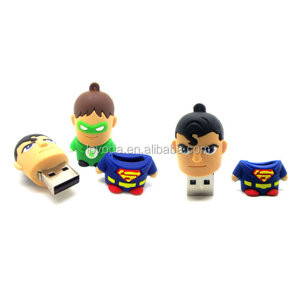 Keychain cartoon characters usb 2.0 driver/bluetooth usb memory stick/usb flash drive advertising alibaba in russian LFN-068