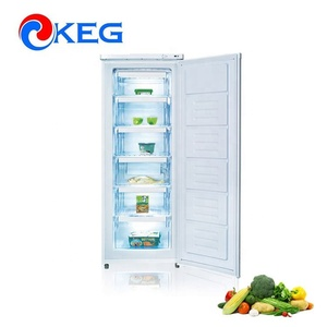 2018 New Defrost Mechanical Control Countertop Ice Cream Cube Cold Storage Refrigerator Freezer with MEPS SASO Certification