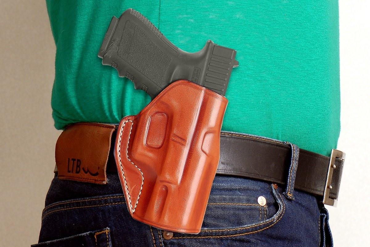 Buy LEATHER PADDLE HOLSTER (OWB) FOR WALTHER P99,P99 QA,P99