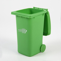 high quality PP plastic mini dustbin pen holder