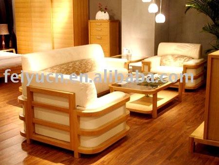 Sillones de madera para sala for Mueble de algarrobo para living