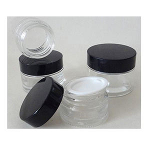 Wholesale Frosted Face Cream Glass Jar Acrylic Cosmetic
