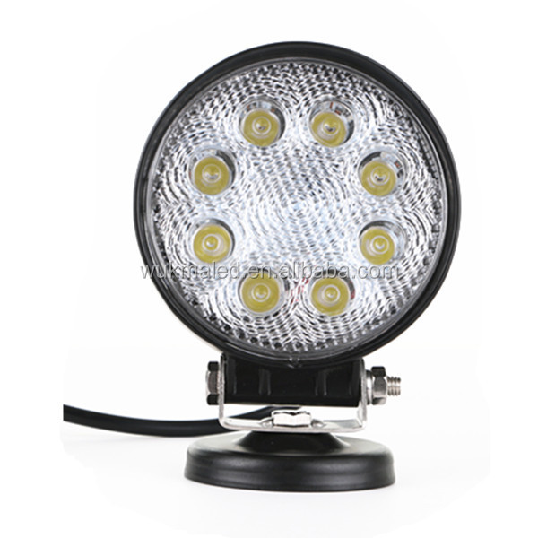 4inch 24W Led Work Light, 12V Round Spot/Flood LED Driving Offroad Lights Jeep Truck Boat 4WD