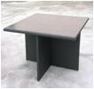 Aluminum rattan square table outdoor furniture