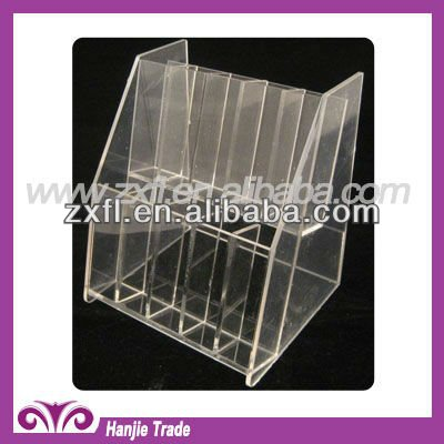 Clear Acrylic Display Stand for Glass Nail File
