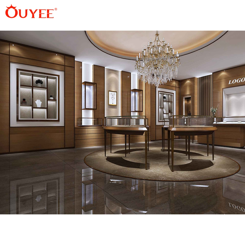 Elegant Unique Interior Design Ideas Jewellery Shops Wood Decoration Jewellery Store Wooden Jewellery Shop Fitting View Jewellery Shop Fitting Ouyee Product Details From Guangzhou Ouyee Display Co Ltd On Alibaba Com