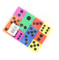 Educational toy Kids Playing Party Promotional Customized Logo PU/EVA Foam Dice with Round Corner