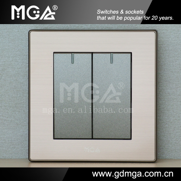 2 Gang 1 Way Switch & Lighting Switch & New Model Switches - Buy New ...