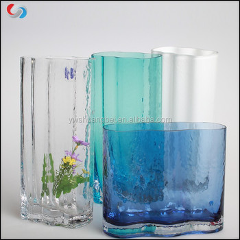 Hot Sale Murano Glass Vases For Wedding Centerpiecestall Colored