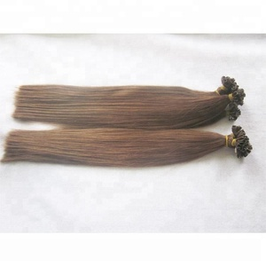 Free Sample wholesale cheap price wholesale human hair artificial nail tip hair extensions