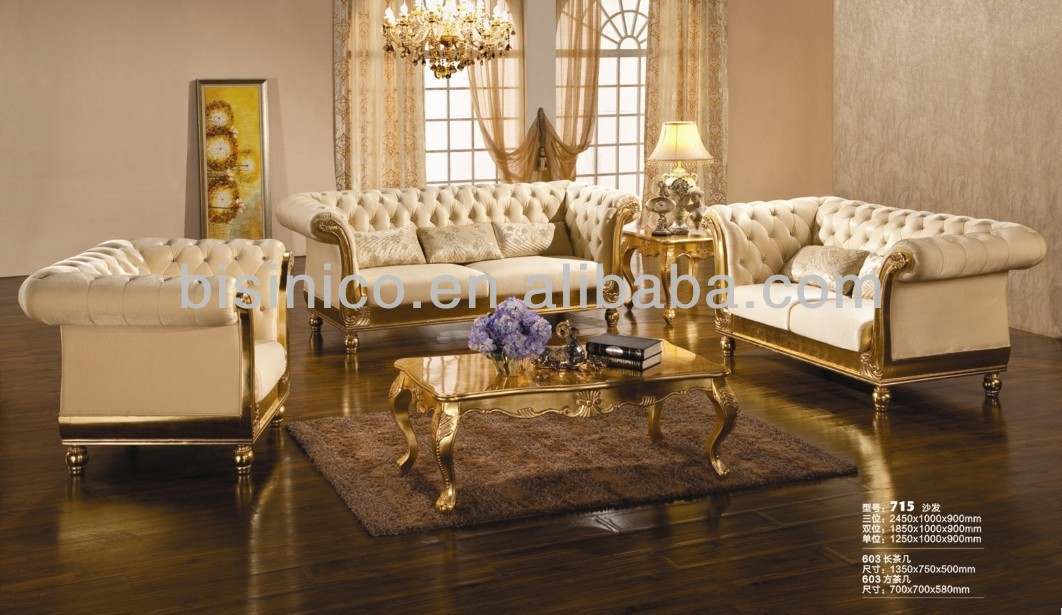 style européen de luxe moderne salon de nouveaux meubles canapé ...
