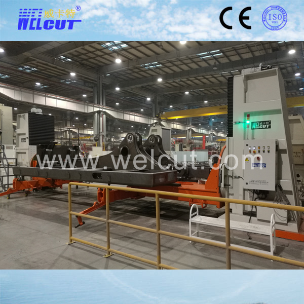 6T L-type 3-axis hydraulic elevation welding positioner
