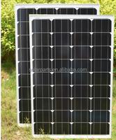 100W Monocrystalline Solar Panel 12V Solar Powered Charger for solar panel home