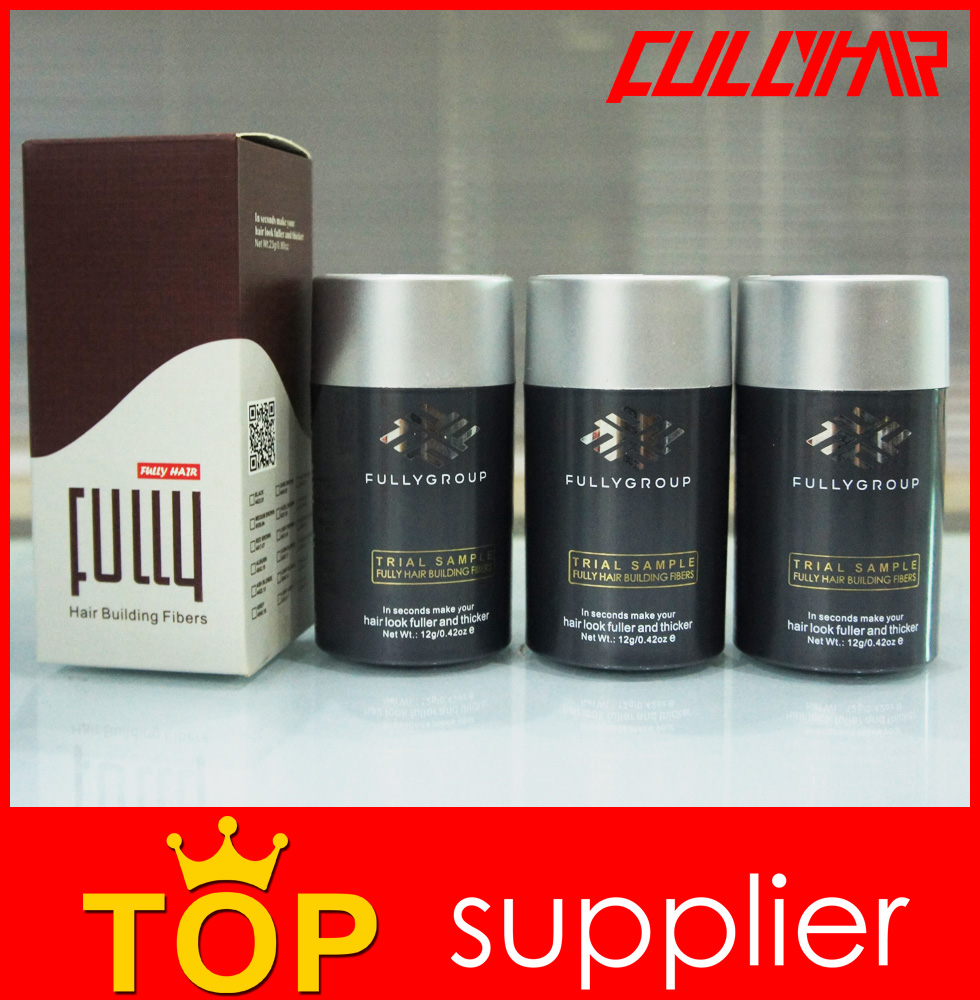 natural Hair Color Powder Fully Hair Fiber hair building fiber