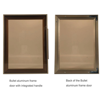 2018 New Design Aluminum Glass Cabinet Frame Profiles For Kitchen