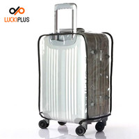 Luckiplus Inevntory (Clear PVC) Travel Luggage Protector Suitcase Covers