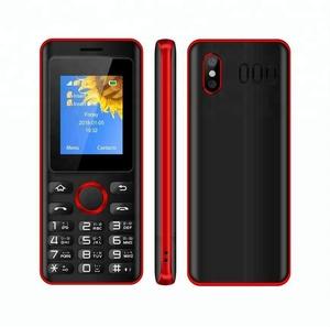 New 1 77 inch Dual SIM Simple Phone Cheap 2G Mobile Phone