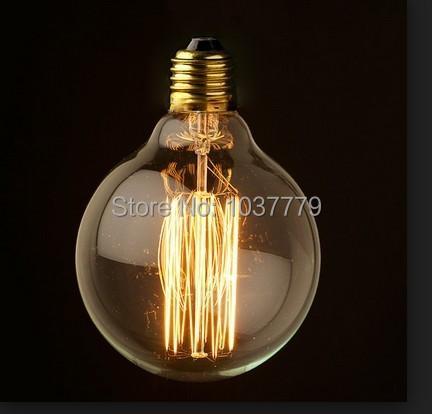 g80 d80 l110mm ampoule reproduction edison filament. Black Bedroom Furniture Sets. Home Design Ideas