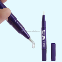 High quanlity plastic white smile teeth whitening pen, dental whitening pen