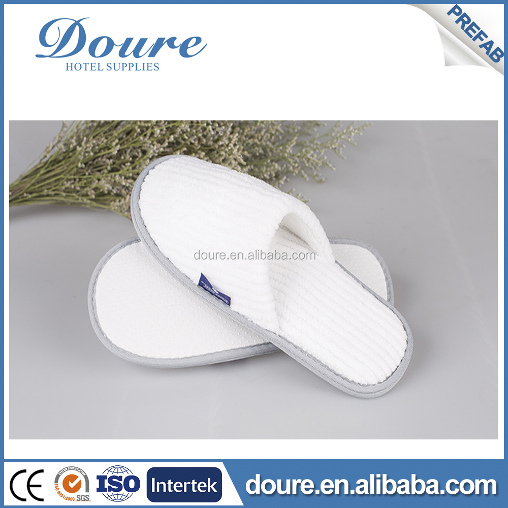 2016 A class quality luxury coral fleece hotel slipper in hotel amenities