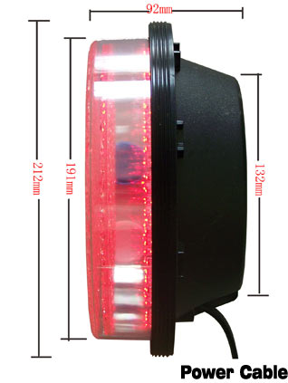 200mm Red Arrow led traffic module for traffic lights