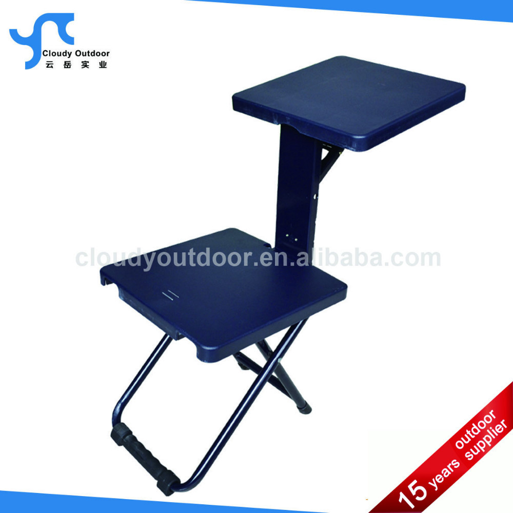 Folding Portable Beach Chair With Side Table