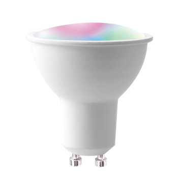 Banqcn smart rgbw lighting fixtures- GU10 RGBW spot light  work with echo alexa and google assistant