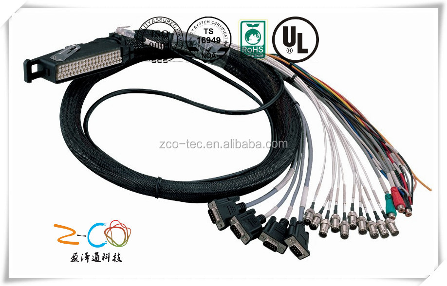 rf coaxial connectors cable assembly jumper cable car audio system