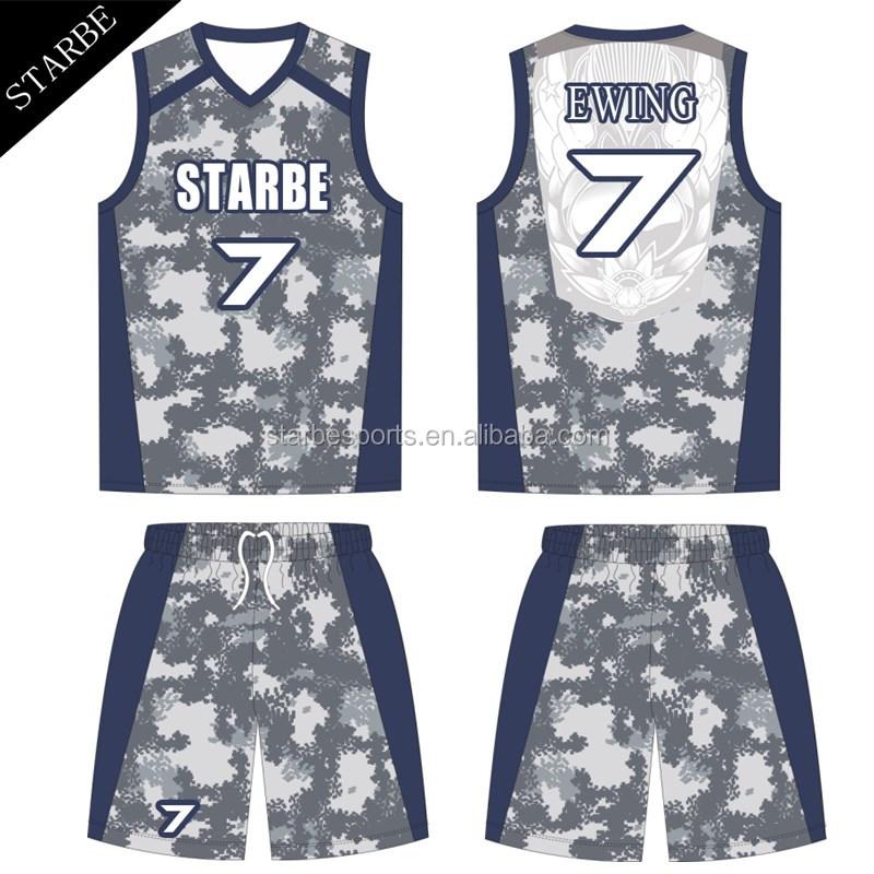 e29d1ab1349 Camouflage Basketball Uniform Wholesale, Basketball Uniform Suppliers -  Alibaba