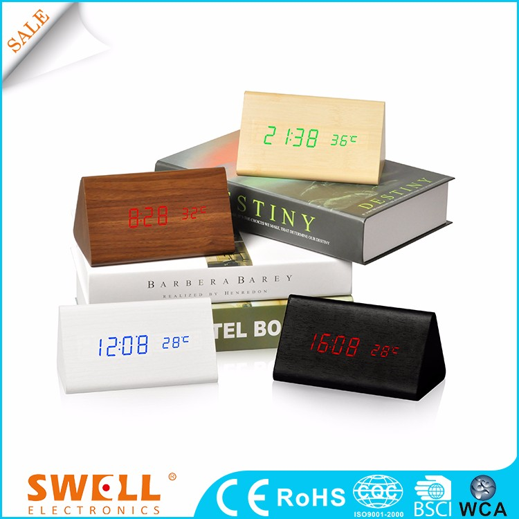 China Rohs Desktop Alarm Digital Led Clock