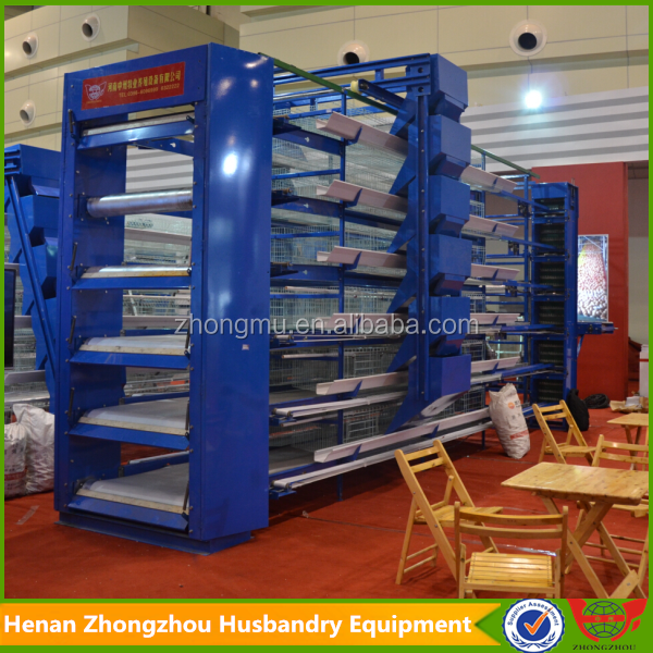 Chinese Manufacturer Design Automatic Broiler Chicken Cage