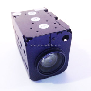 "China 1000tvl megapixel HD IP mini ptz auto focus analog box camera module with 1/2.8""sony cmos 10x optical focus double filter"