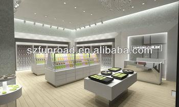 Mobile Phone Mdf /wood Shop Decoration Shop Counter Design - Buy ...