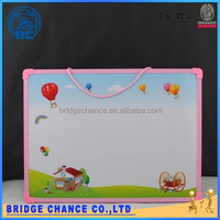 35*50cm pink magnetic cartoon plastic writing board drawing board