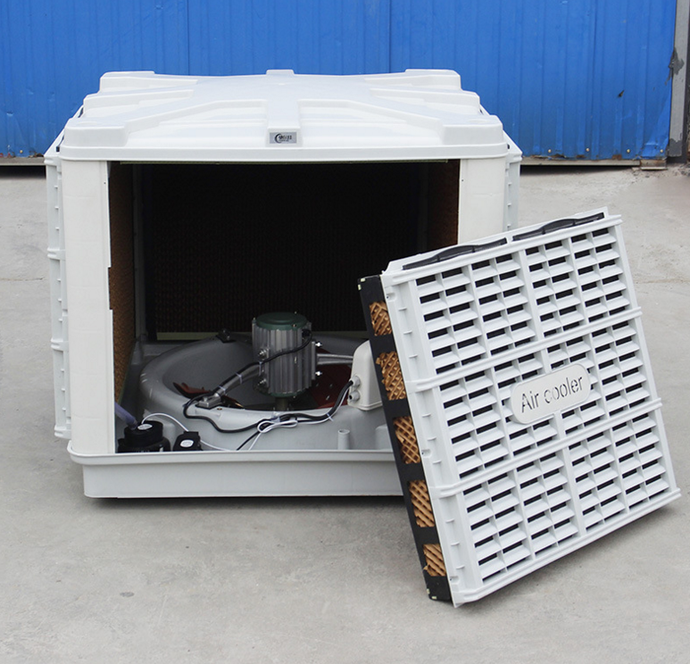 Cooling equipment series Air cooler with Top outlet for workshop